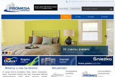 Promesa. Centrum Malarskie Dulux - Skład budowlany Limanowa