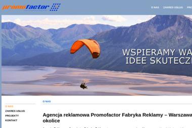 Promofactor Sp. z o.o. - Analiza Marketingowa Stara Iwiczna