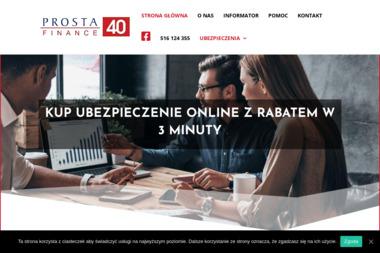 Prosta 40 Finance - Ubezpieczenia na życie Biała Podlaska