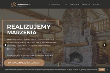 Zakład stolarski. Jacek Proszkowiec - Schody Drewniane Krzczonów