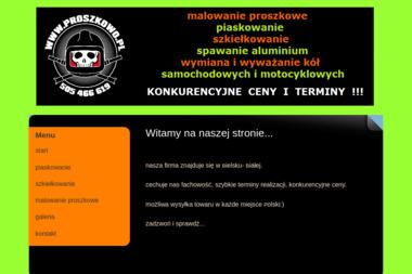 Proszkowo.pl - Piaskowanie Bielsko-Biała