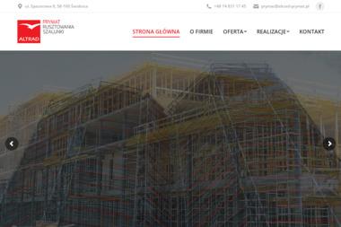 Altrad-Prymat Sp. z o. o. - Schody drewniane Dzierżoniów