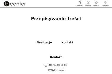b.center - Odzież Damska Piła