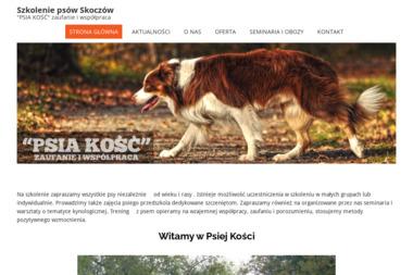 Psia Kość. Szkolenie psów - Wyprowadzania psów Skoczów