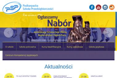 Urszula Penar Woźniak Podkarpacka Szkoła Przedsiębiorczości w Sanoku - Szkoła językowa Sanok