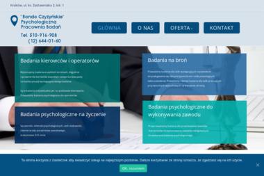 Rondo Czyżyńskie Psychologiczna Pracownia Badań Kierowców - Psycholog Kraków