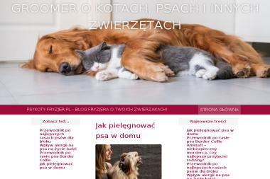 Fryzjer Dla Psów I Kotów Raining Dog Strzyżenie Groomer Mników