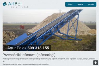 PW A R T P O L Polak Artur - Nagrobki Granitowe Mogilno