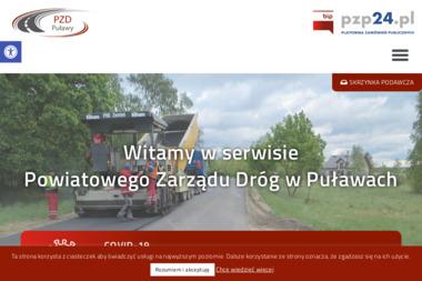 Powiatowy Zarzad Drog w Pulawach - Transport ciężarowy krajowy Puławy