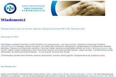 Agent PZU S.A. Robert Piwowarczyk - Ubezpieczenia Piła