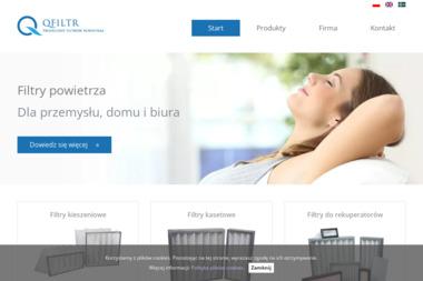 Qfilters. Produkcja filtrów powietrza, serwis klimatyzacji Kocot Barbara - Klimatyzacja Chorzów