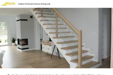 Radar Zakład Stolarski Dariusz Ratajczak - Schody drewniane Krzemieniewo