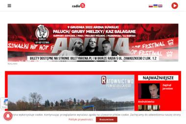 Agencja Reklamowa Radio 5 Piotr Bajer - Agencja marketingowa Suwałki
