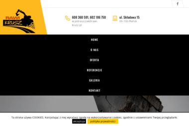 RAWI-KRUSZ - Drenaż Opaskowy Płońsk