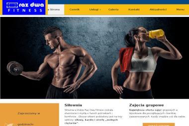 Raz Dwa Fitness. Siłownia, sauna, masaże - Trener personalny Wyszków