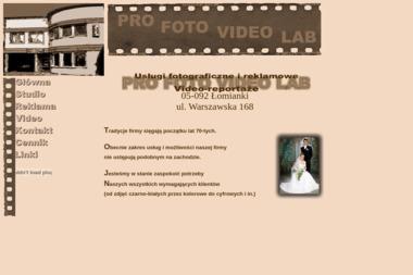 Remigiusz Bierzanek Pro Foto Video Lab - Fotografowanie Łomianki
