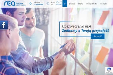 """""""REA"""" Centrum Ubezpieczeń Sp. z o.o. - Ubezpieczenie samochodu Ostrów Wielkopolski"""