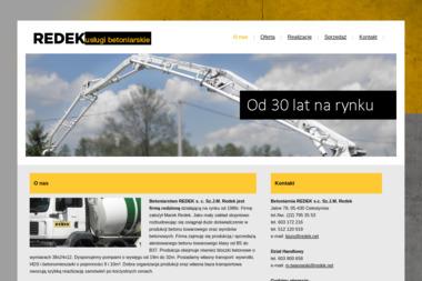 Betoniarnia REDEK s.c. Sz.J.M. Redek - Skład budowlany Celestynów