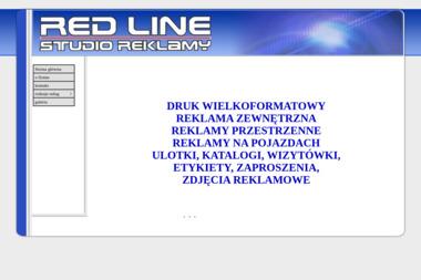 Red Line Szkoła Języków Obcych - Ulotki Reklamowe Zduńska Wola