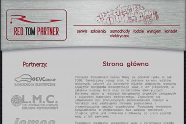 Red Tom Partner Tomasz Janiak - Wózki widłowe Tomaszów Mazowiecki
