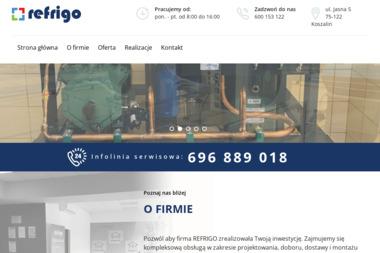 Refrigo - Urządzenia, materiały instalacyjne Koszalin