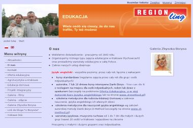 Region - Nauczyciel Angielskiego Kraków