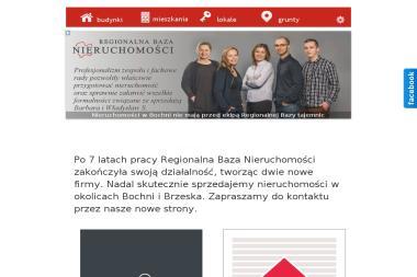 Regionalna Baza Nieruchomości s.c. - Agencja nieruchomości Bochnia