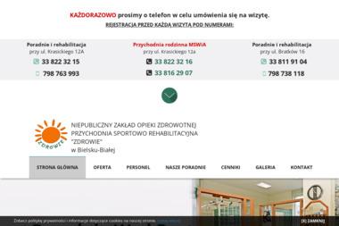 NZOZ Przychodnia sportowo-rehabilitacyjna ZDROWIE - Rehabilitant Bielsko-Biała