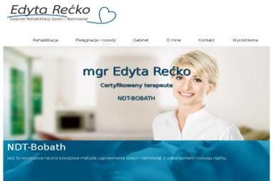 Rehabilitacja Dzieci臋ca Edyta Niemotko - Rehabilitant Bia艂ystok