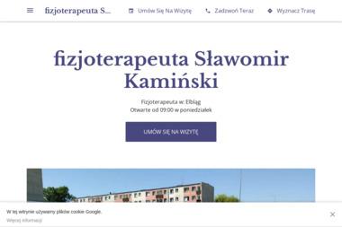 Fizjoterapeuta Sławomir Kamiński - Rehabilitanci medyczni Elbląg
