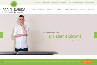 Rehabilitacja Daniel Kawka - Rehabilitant Bielsko-Biała