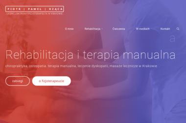 Piotr Paweł Rząca - Fizjoterapeuta Kraków