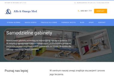 Abm Rehabilitacja Marek Sewastianik - Rehabilitant Bia艂ystok