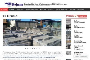 PW Rejman Antoni Rejnin - Skład budowlany Sanok