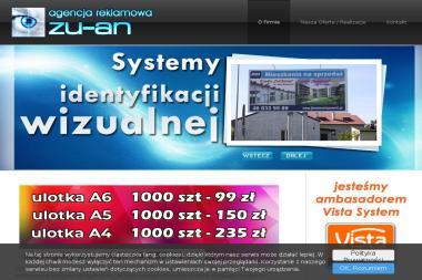 Agencja Reklamowa ZU-AN - Poligrafia Łowicz