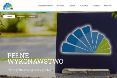 Agencja Reklamowa Ploter. Reklama zewnętrzna, świetlna, banery - Drukarnie etykiet Toruń