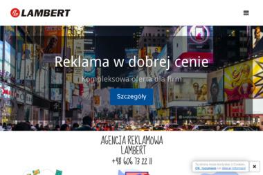 Lambert Druk i Reklama - Ulotki Aleksandrów Kujawski