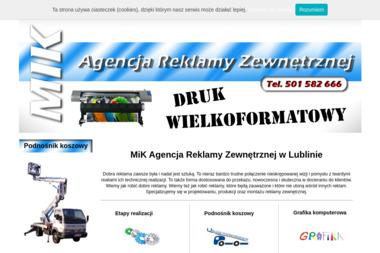 Reklama MIK - Agencja Reklamowa Jakubowice Konińskie