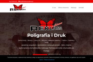 Reklama u Adama Elżbieta Biełaga - Agencja marketingowa Suwałki