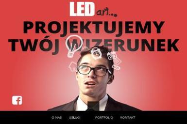 LEDart agencja reklamy - Ulotki Wadowice