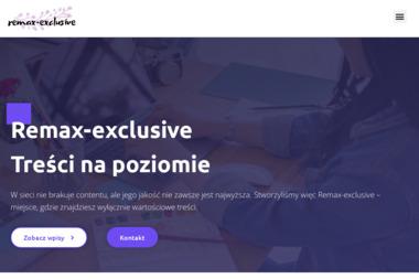 Re/Max Exclusive - Agencja nieruchomości Ostrów Wielkopolski