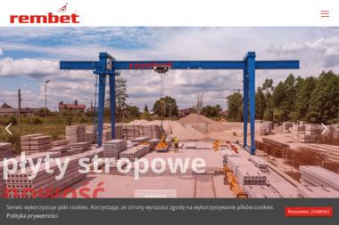 Zakład Produkcyjno Usługowo Handlowy Rembet Sp. z o.o. - Wylewka Kępno
