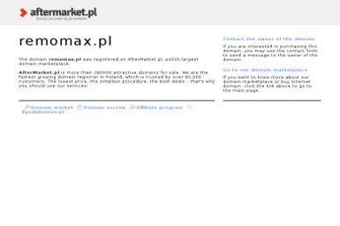 Wynajem Rusztowań i Sprzętu Budowlanego Remomax - Wypożyczalnia Maszyn Budowlanych Terenin