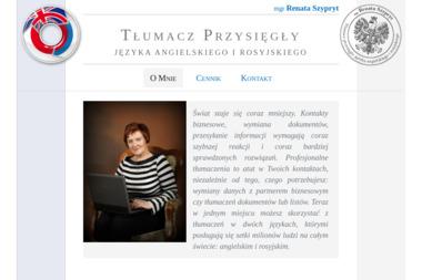 Tłumacz Przysięgły mgr Renata Szypryt - Tłumacze Chojnice