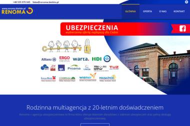 Renoma+ Multiagencja Wojciech Fabia - agencja ubezpieczeniowa - Pośrednictwo Ubezpieczeniowe Bielsko-Biała