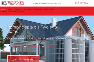 Renova. Technika grzewcza i sanitarna. Tomasz Gołaś - Kotły na Ekogroszek Toruń