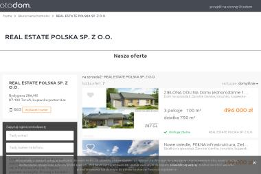 Real Estate Polska Sp. z o.o. - Sprzedaż Mieszkań Toruń