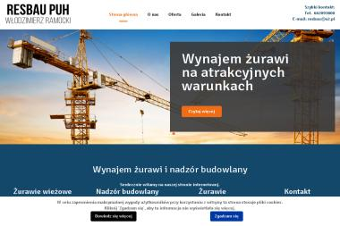 Przedsiębiorstwo Usługowo - Handlowe Resbau - Maszyny Budowlane Używane Rzeszów