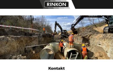Rinkon Sp. z o.o. - Roboty ziemne Płock