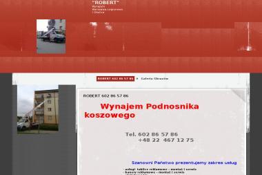 Wynajem i usługi podnośnikiem koszowym - Wypożyczalnia sprzętu budowlanego Michałów-Reginów